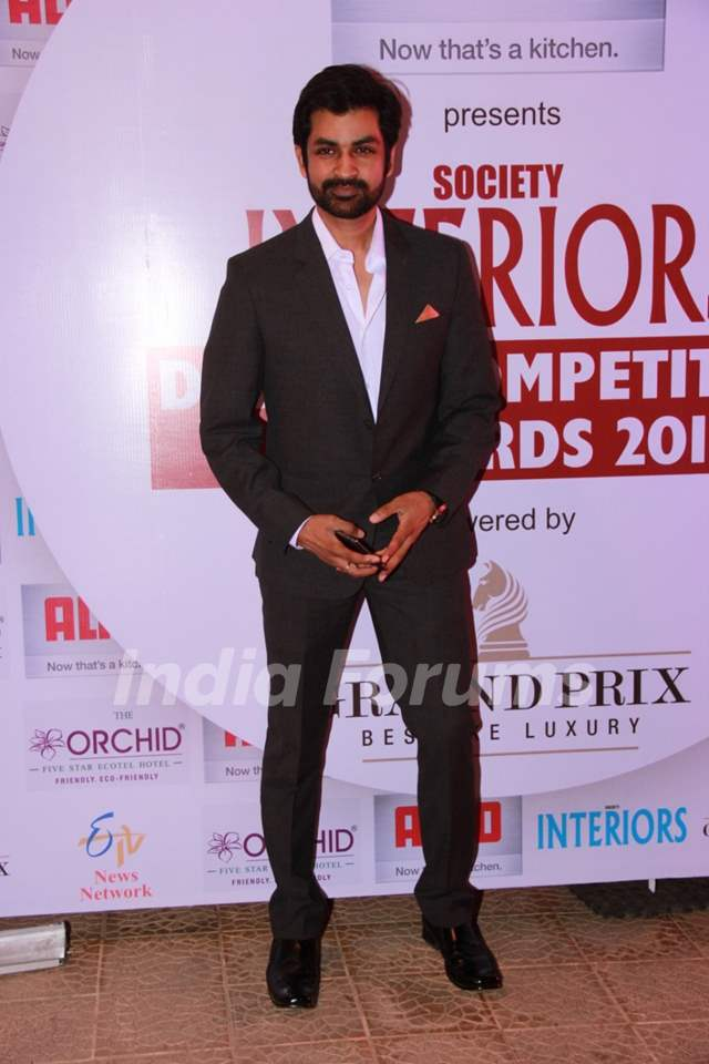 Manish Goel was at the Society Interiors Design Competition & Awards 2015