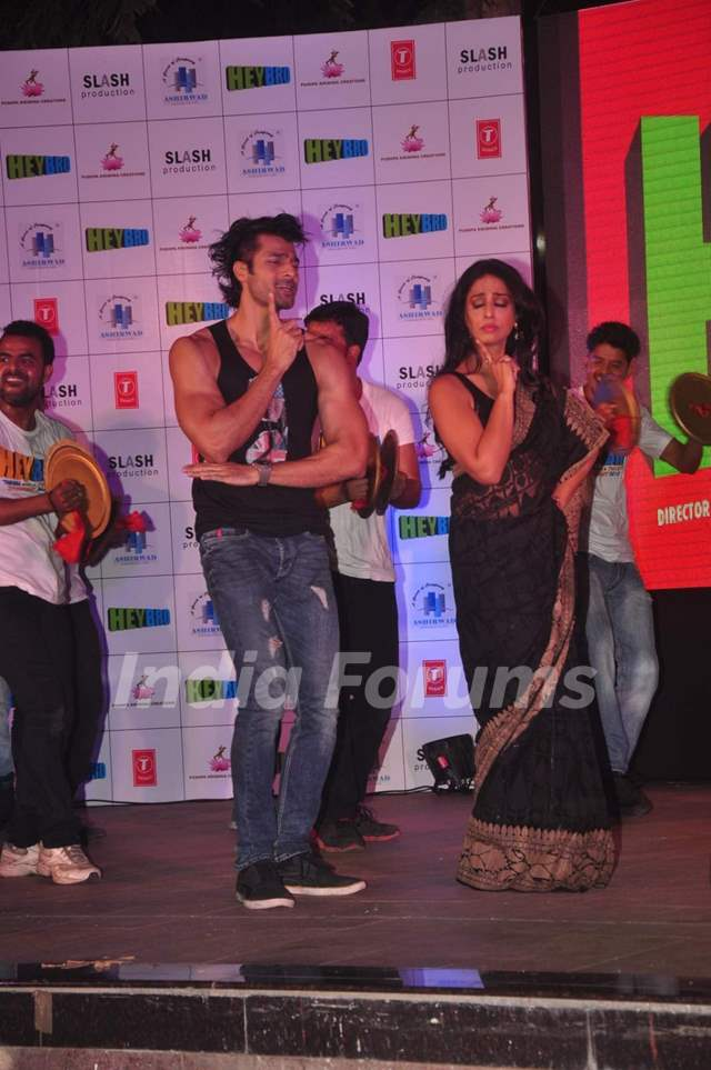 Hanif Hilal and Mahie Gill perform at the Grand Success Bash of Hey Bro's Music
