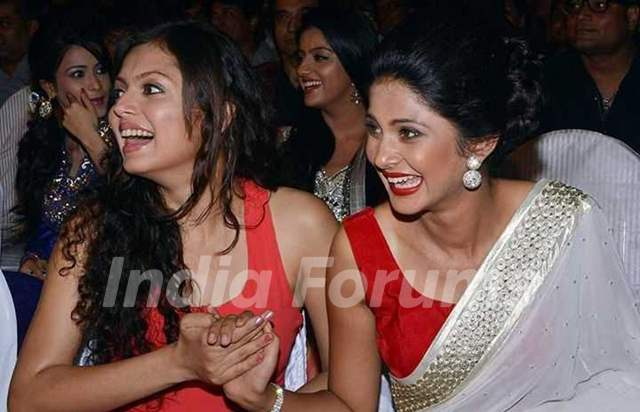 Drashti Dhami with Jennifer Winget