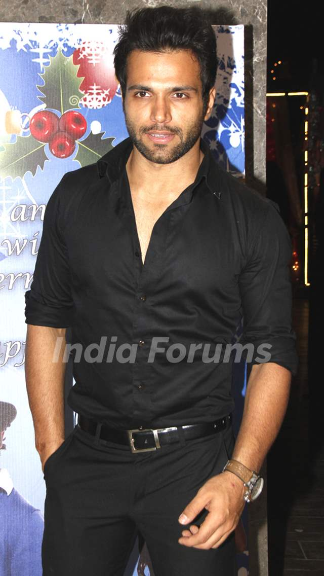 Rithvik at Karanvir Bohra and Teejay's Christmas party