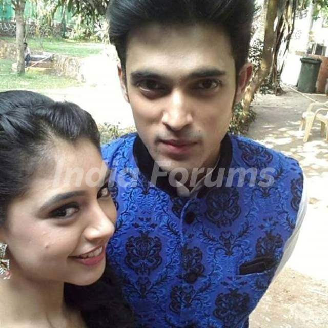 Niti taylor with Parth Samthaan