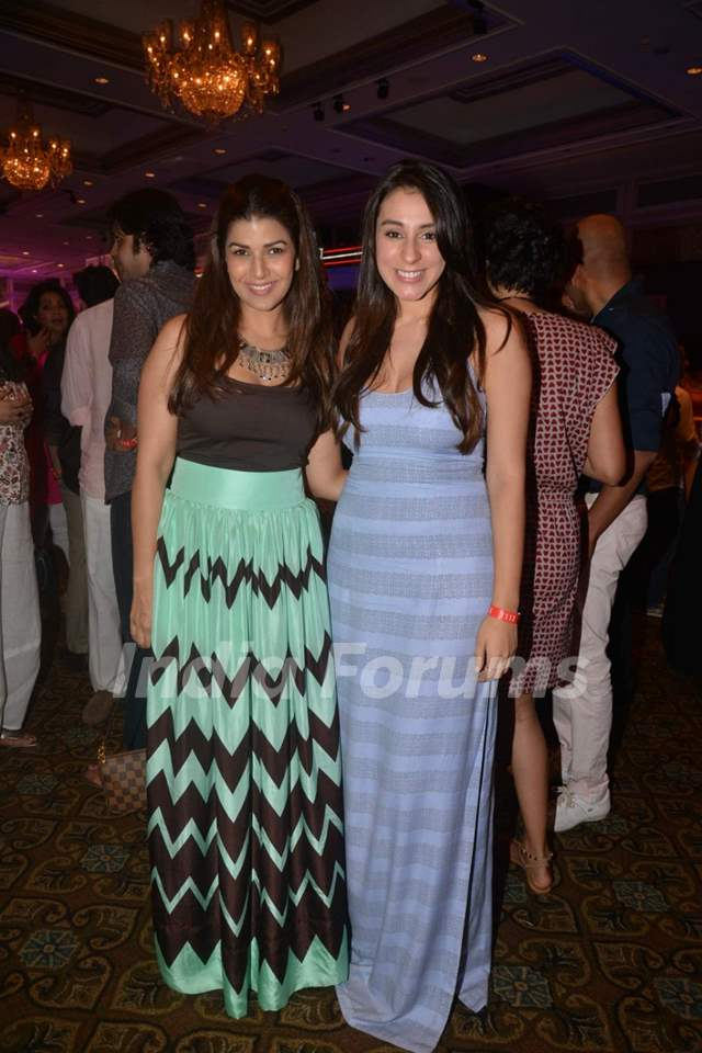 Anindita Naiyar and Nimrat Kaur at Elle Carnival