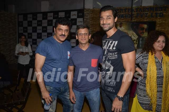 Rajesh Khattar and Hanif Hilal at Special Screening of Rann