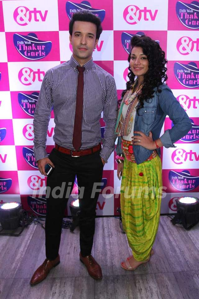 Aamir Ali and Sukirti Kandpal