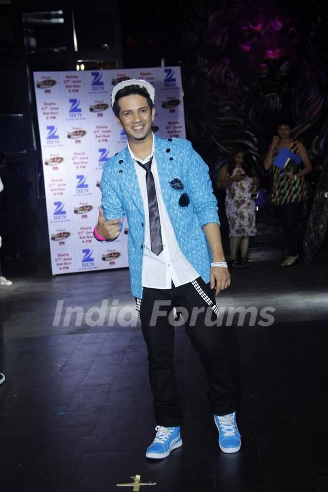 Mudassar Khan at Press Meet of Dance India Dance Season 5