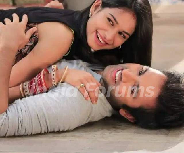 Mishkat Varma and Aneri Vajani