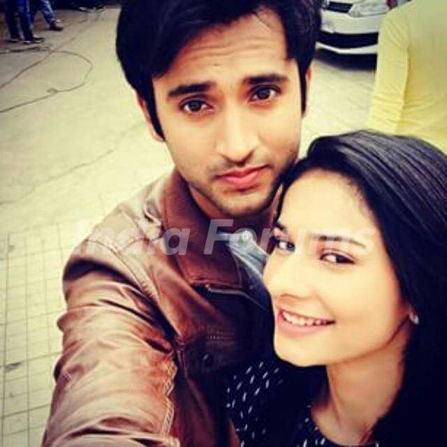 Aneri and Mishkat Selfie