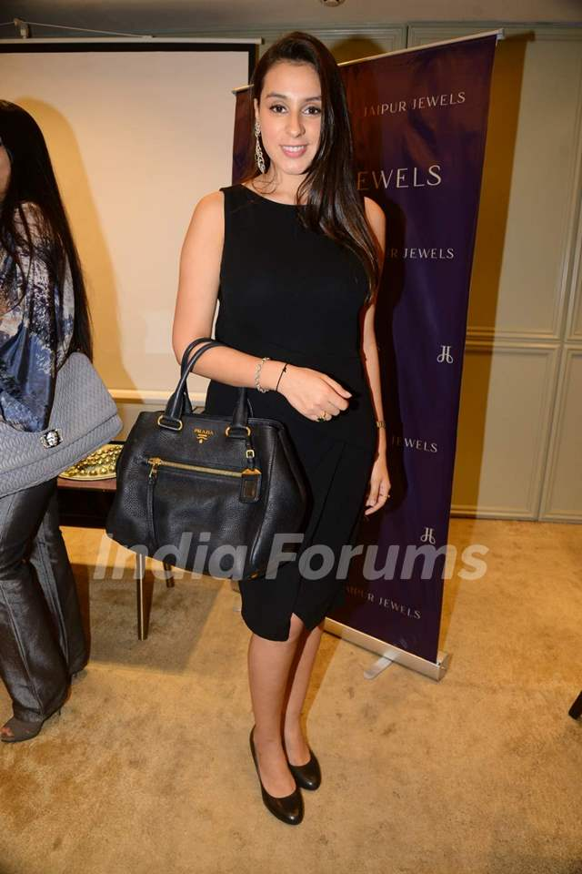 Anindita Naiyar poses for the media at Jaipur Jewels Rise Anew Collection Launch