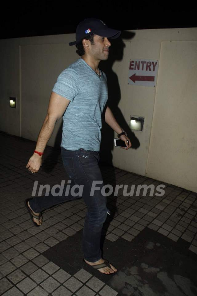 Tusshar Kapoor at Screening of Brothers
