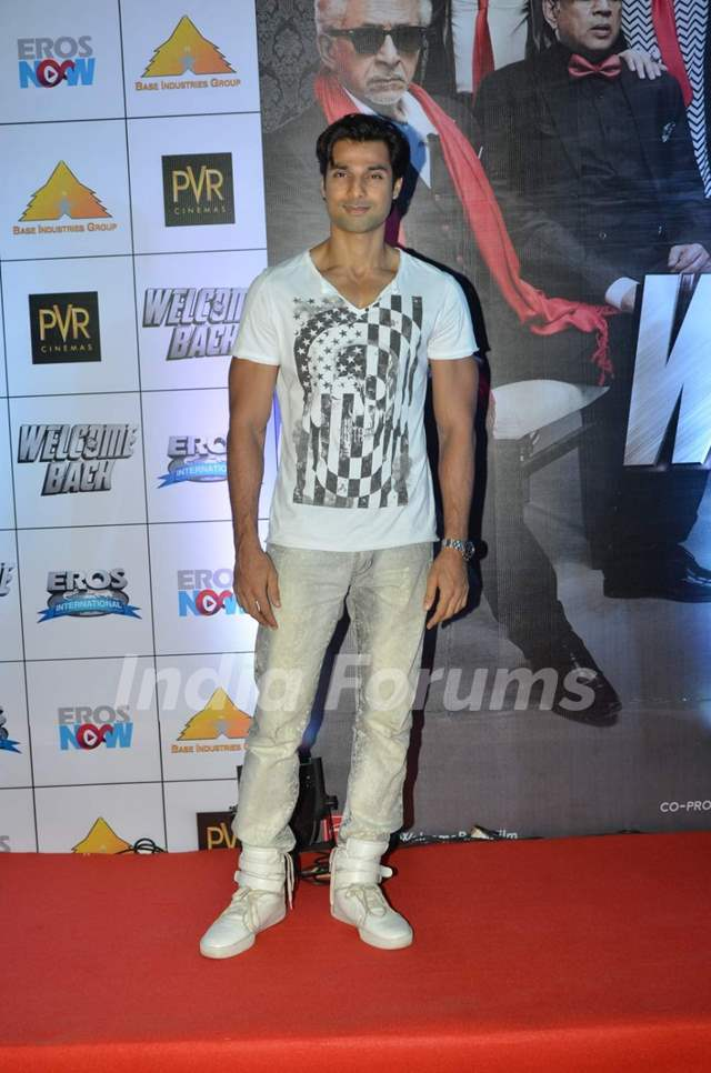 Hanif Hilal at Premiere of Welcome Back