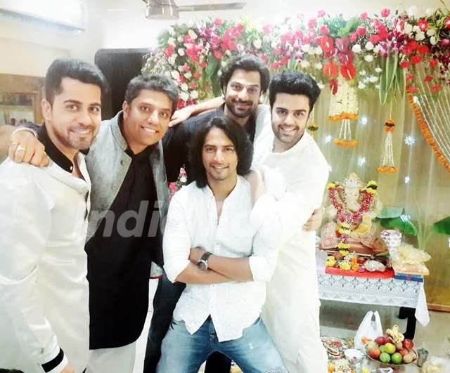 TV Celebs Celebrate Ganesh Chaturthi
