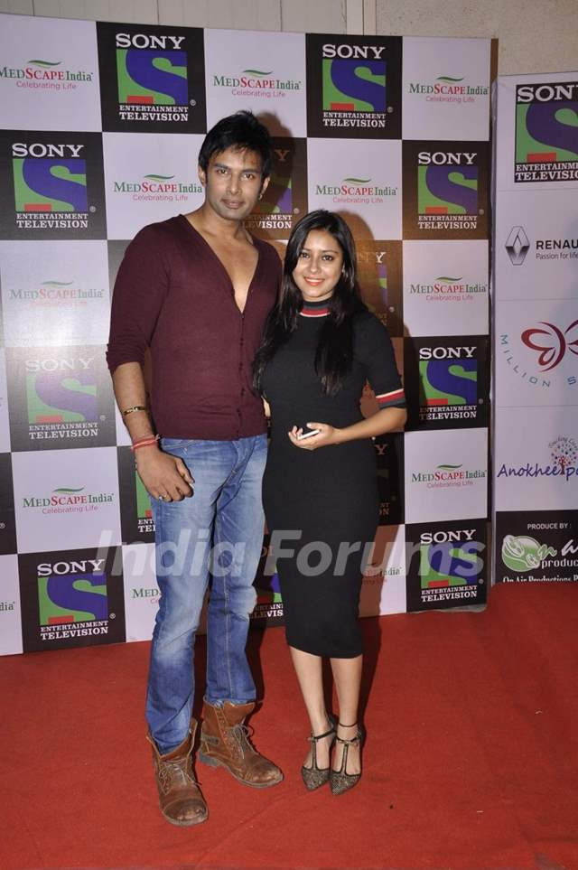 Pratyusha Banerjee and Rahul Raj at Medscape Awards