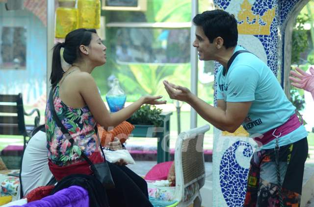 Bigg Boss Nau : Day 10 - Aman Varma and Rochelle Rao