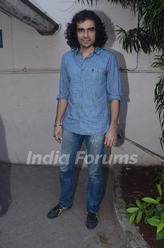 Imtiaz Ali Snapped on the Sets of Tamasha