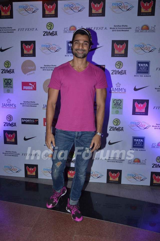 Hanif Hilal at 'Fit Fest' by Pro Sport Fitness