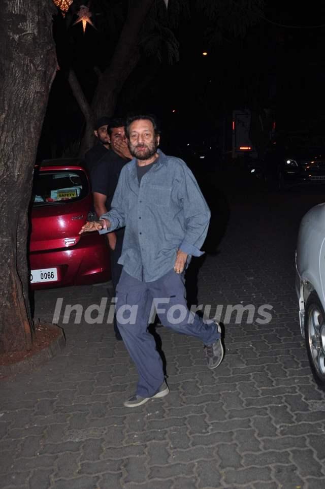 Shekhar Kapoor at Anil Kapoor's Birthday Bash