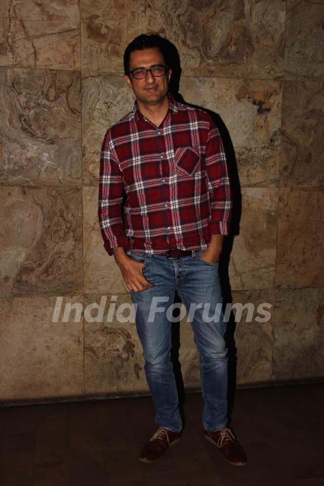 Sanjay Suri at Special Screening of 'Chalk N Duster'