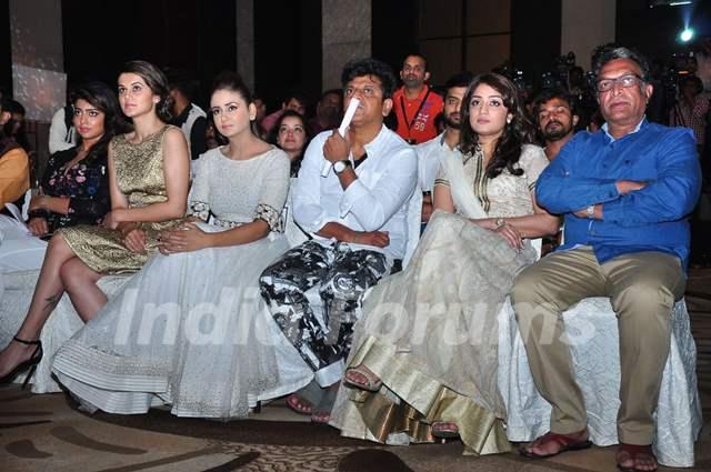 Shriya, Parul, Nassar and Taapsee at Press Meet of IIFA Utsavam