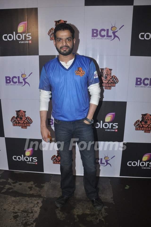 Karan Patel at Press Meet of 'Chandigarh Cubs' Team BCL