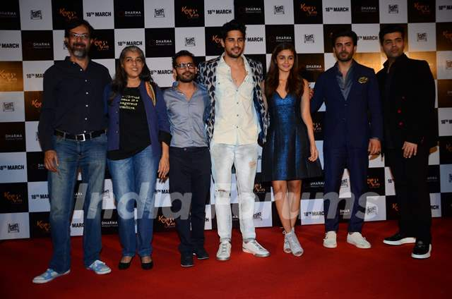 Cast of Kapoor & Sons at Trailer Launch of the Film