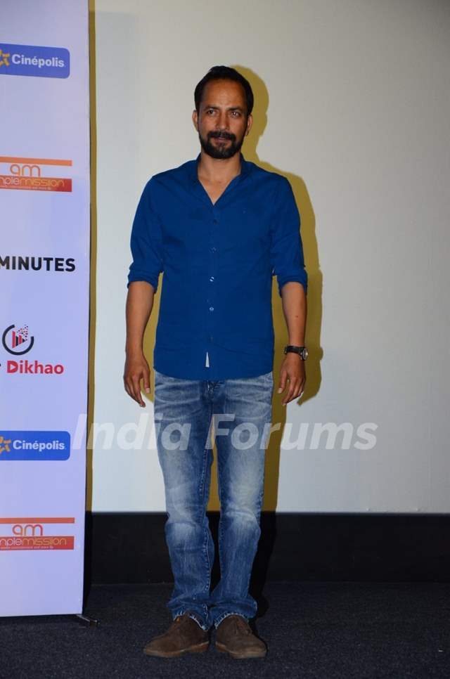 Deepak Dobriyal at Launch of 'Anti Smoking' Ad