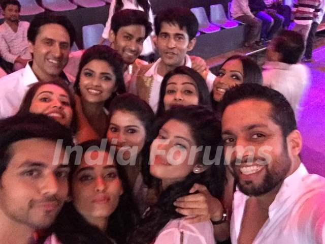 BCL's Team 'Kolkata Baabu Moshayes' at the Curtain Raiser Shoot