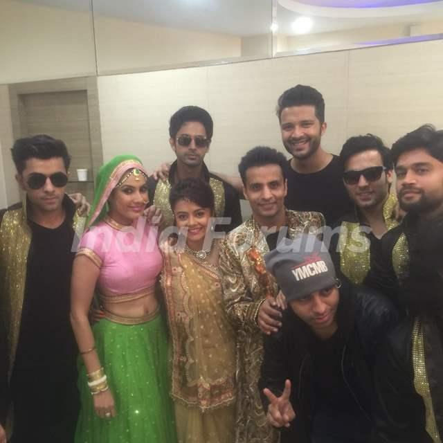 Jaipur Joshiley Team at the Curtain Raiser Shoot