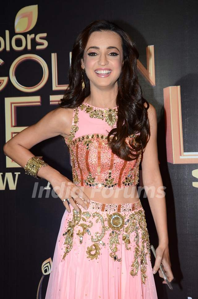 Sanaya Irani at Golden Petal Awards 2016