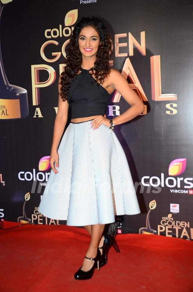 Mukti Mohan at Golden Petal Awards 2016
