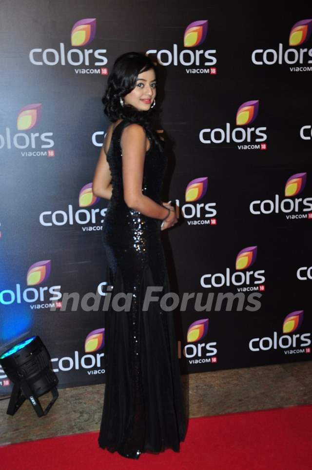 Helly Shah at Colors TV's Red Carpet Event