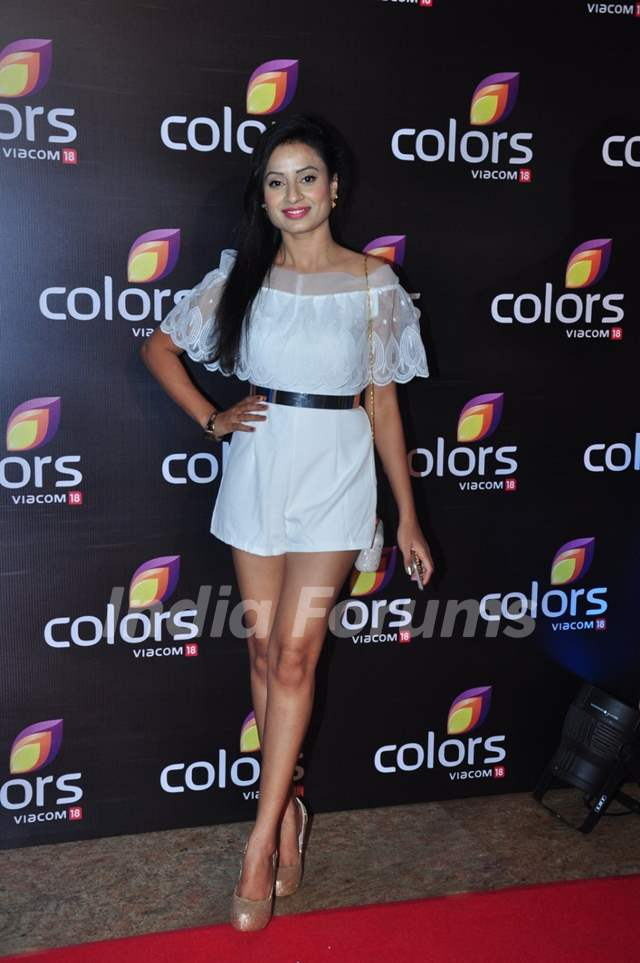 Priya Shinde at Colors TV's Red Carpet Event