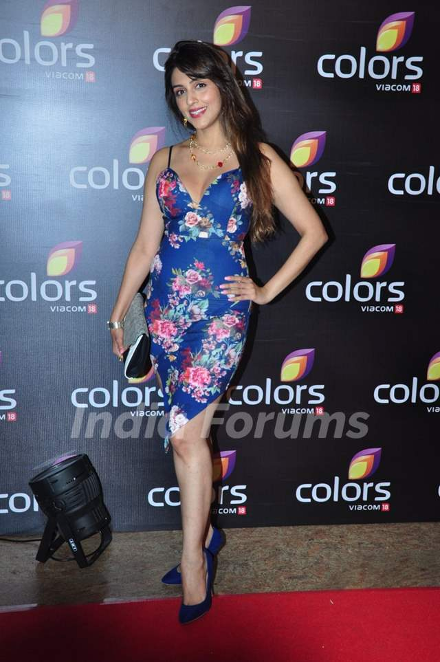 Tanisha Mukherjee at Colors TV's Red Carpet Event at Colors TV's Red Carpet Event