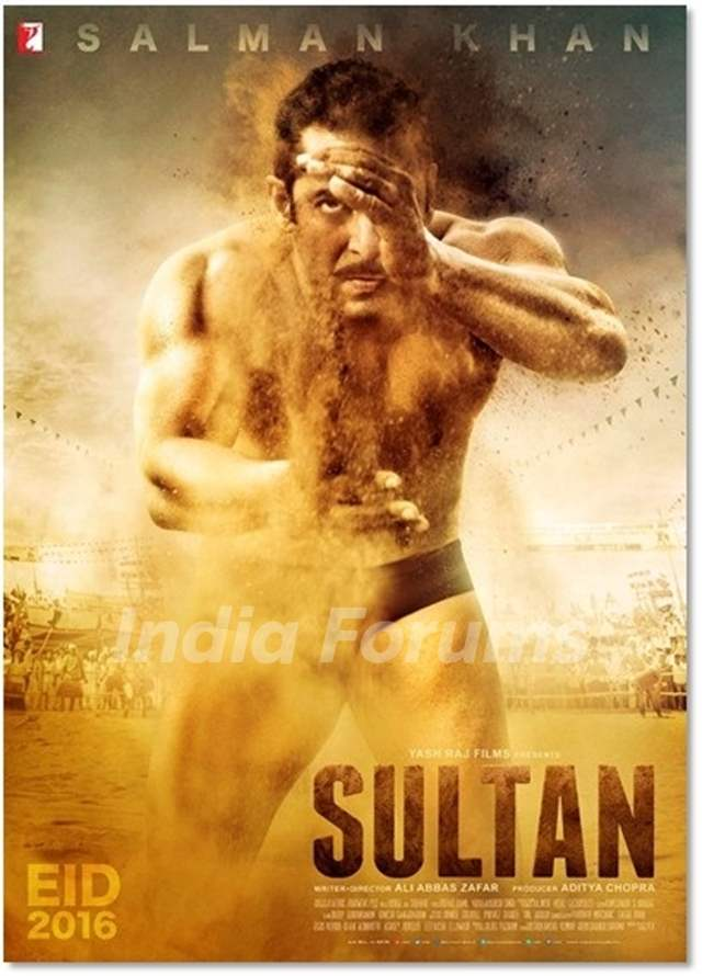 First Poster of Sultan Starring Salman Khan