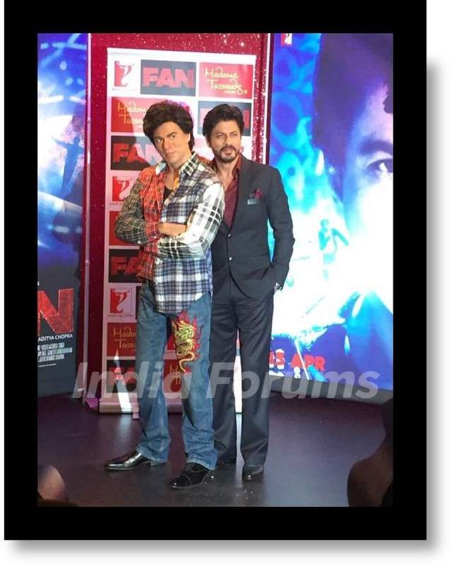 Shah Rukh's  'Fan' Gaurav placed at Madame Tussauds in London