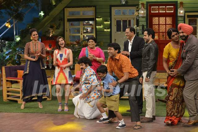 Fun Moments for Cast of Azhar during  Promotions of 'Azhar' on 'The Kapil Sharma Show'