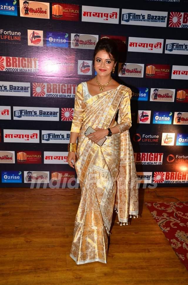 Devoleena Bhattacharjee at Dada Saheb Phalke Awards