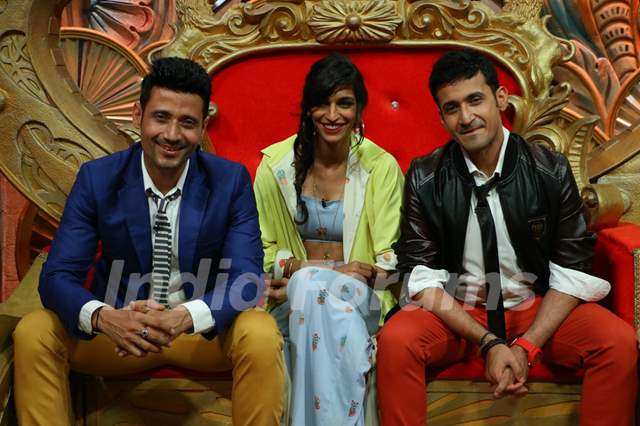 Meet Bros-Harmeet Singh Have a Blast on the sets of 'Comedy Nights Bachao'