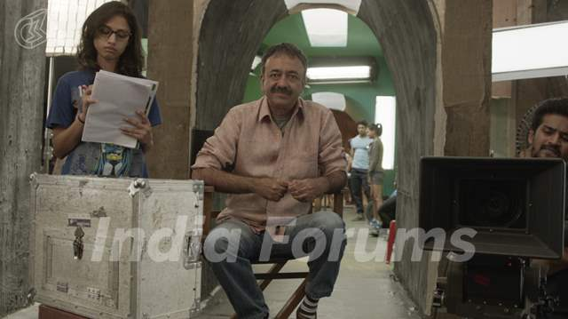Rajkumar Hirani Shoots for Sonu Nigam's Music Album 'Crazy Dil'