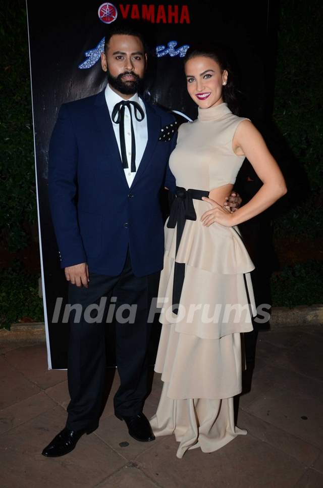 VJ Andy with Elli Avram Graces the Miss Diva Event