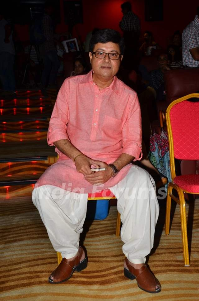 Actor Sachin Pilgaonkar at Press meet of 'Sex Chat with Pappu and Papa'