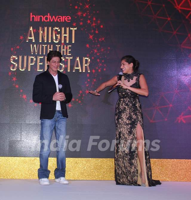 Kubra Sait hosted Hindware book and app launch with Shah Rukh Khan