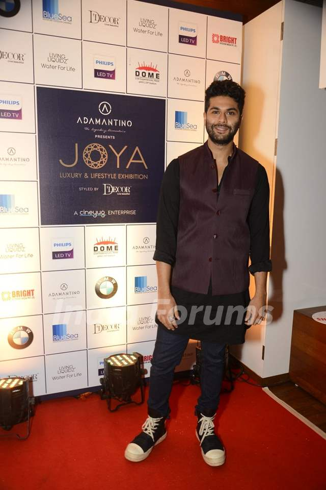 Kunal Rawal at Joya Exhibition announcement