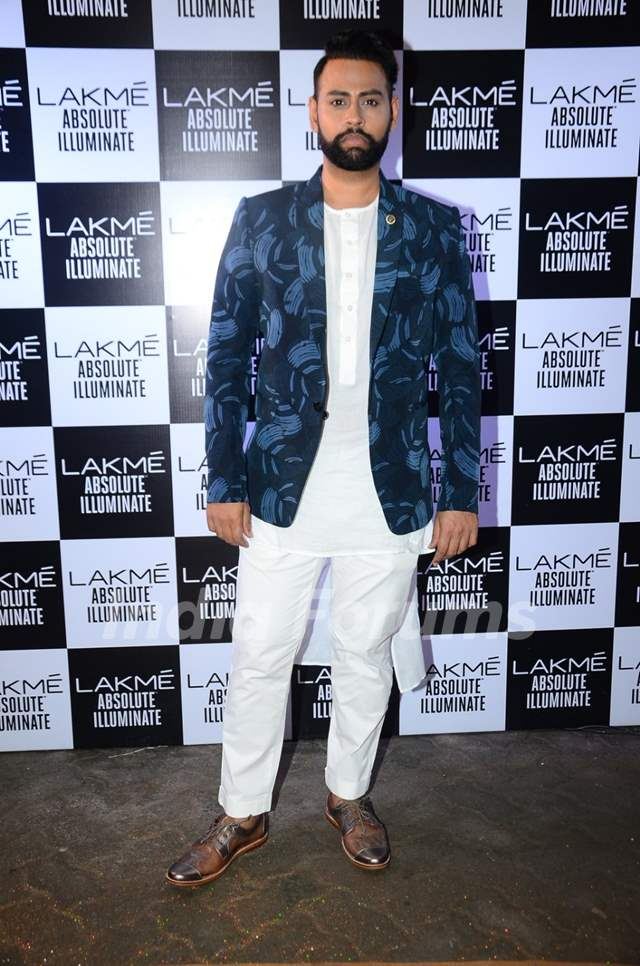 VJ Andy at Grand Finale of Lakme Fashion Show 2016