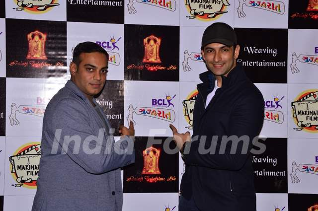 Nandish Singh Sandhu and Gaurav Aggarwal at BCL Gujarat Bash!