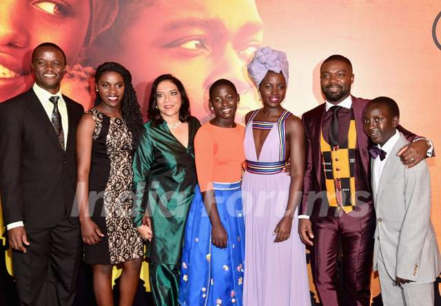 Mira Nair and Lupita Nyong'o at 'Queen of Katwe' Los Angeles premiere