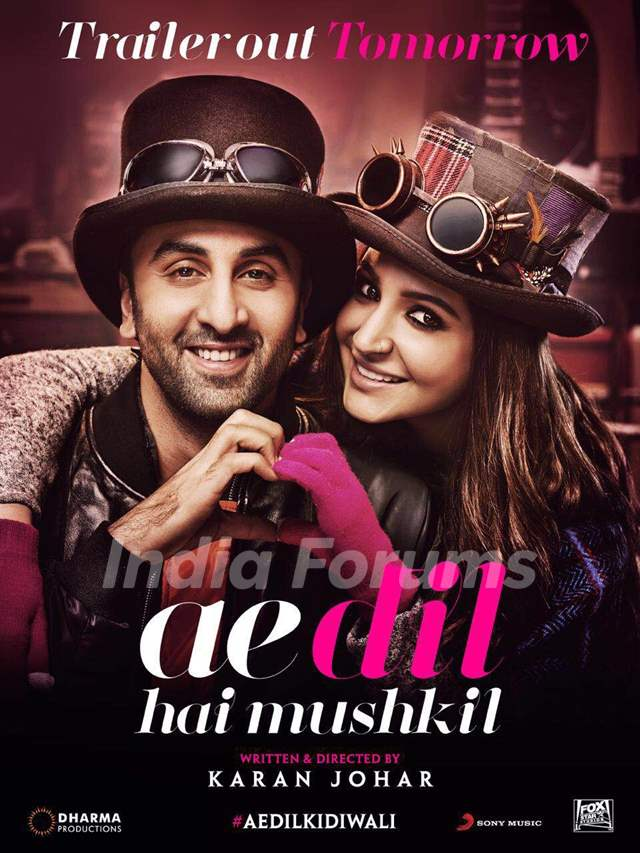 Ae Dil Hai Mushkil starring Ranbir Kapoor and Anushka Sharma