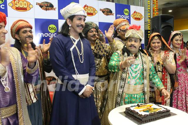 Kiku Sharda and Vishal Kotian's Akbar Birbal Completes 500 Episodes