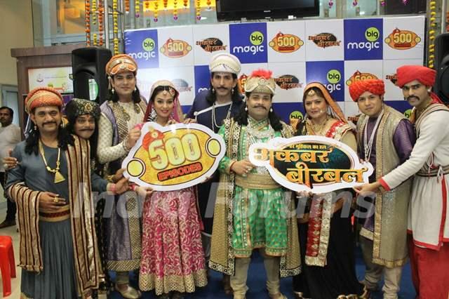 Kiku Sharda, Vishal Kotian and Pragati Mehra's Akbar Birbal Completes 500 Episodes