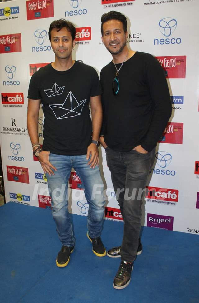 Salim Merchant and Sulaiman Merchant at Press meet of Folk and Fusion music Festival- Paddy Fields