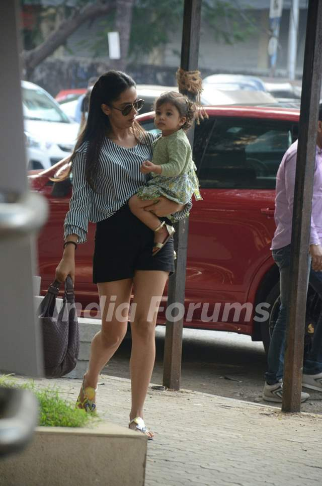 Mommy Mira and baby Misha's Day out